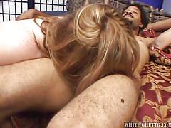 interracial, cum inside, cream pie, reverse cowgirl, shaved vagina, big fat creampie, fame digital