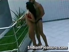 Babe from sri lanka sucking cock outdoors