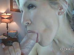 Slutty milf jolene filling all of her tight holes