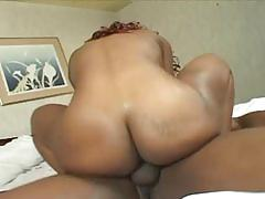 Ebony babe wants to fuck this wide pussy