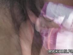 Mature sachiyo nishitani shower first before fuck