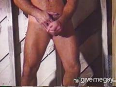 Hairy daddies in fantasy anal assault