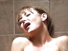 solo, masturbation, tranny big boobs, asian tranny, wet body, tranny shower, devils film, fame digital, danielle foxxx