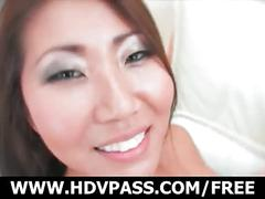 Asian slut betty hana sucks and fucks