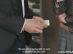 Money makes her happy