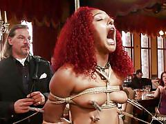 small tits, bdsm, redhead, domination, vibrator, frizzy hair, the upper floor, kink, daisy ducati, zoey monroe, bill bailey