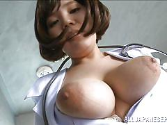 Japanese nurse loves my dick