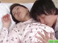 Mature yuuko kuremachi enjoys young cock.