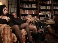 Penelope and bambula in threesome
