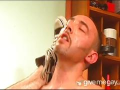 Hairy and horny doctor fucks his young patient.