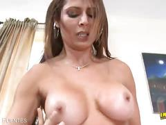 Monique fuentes cock served on her wet cunt