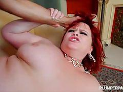 Top notch fat slut marcy diamond rides cock