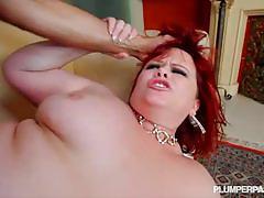 Top notch fat slut marcy diamond rides cock