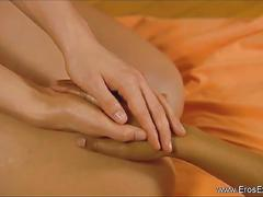 Intimate sensual massage with finger action