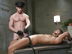 Seth disciplines his naughty boy