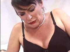Mature and lover play with some dildos and fuck