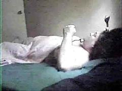 My mom solo. hidden cam in her bedroom
