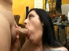 Big tits blowjob an titen fuck