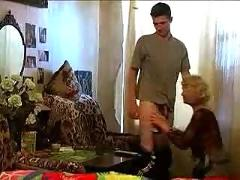 Moviesand - granny takes a bottle and dick!