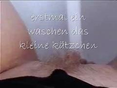 German - allein vor der webcam  - front of cam