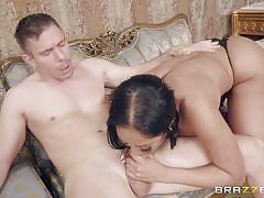 black, big tits, babe, interracial, pov blowjob, deep throat, big dick, porn stars like it big, brazzers, mick blue, romi rain, moriah mills