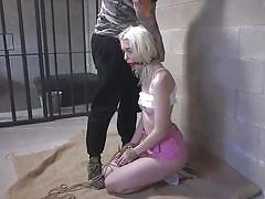blonde, bdsm, babe, deepthroat, punishment, domination, face fuck, ball gag, strip whip, sex and submission, kink, derrick pierce, chloe cherry