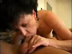 Mature brunette fucks like wildfire ( mature hardcore brunette )
