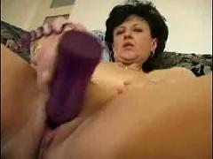 Mature brunette fucks like wildfire ( mature hardcore brunette )