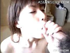 anna, miyashita, hot, japanese, doll, gives, excellent, blow, job