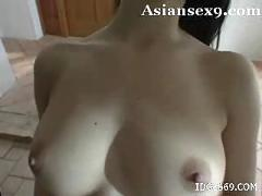 Maria ozawa cute japanese model enjoys sucking her pop