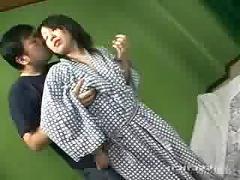 Japanese girl gang dildo fucked