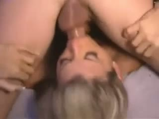 Hot blonde milf with big tits