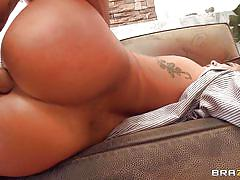 London gets her asian ass pounded hard