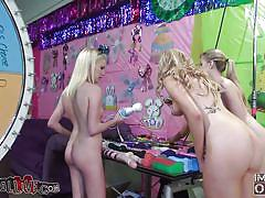 small tits, blonde, threesome, skinny, long hair, toys, nice ass, molly bennett, abigiale johnson, elanie raye, immoral live, myxxxpass, blazing bucks