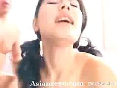 Maria ozawa naughty japanese slut is horny for a gangbang