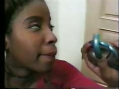 Vanessa blue (black american) & byron long (black american)