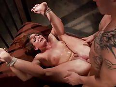 Squirting bondage sex with amazing savannah fox.