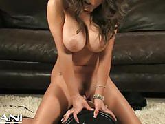 Sexy jenna presley rides the sybian