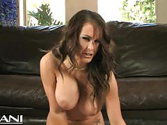 jenna presley, big tits, milf, masturbation, toys, solo, mom, naked, big boobs, huge tits, fake tits, sybian
