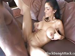 Persia fucked by big black cock