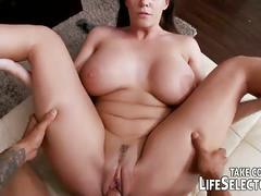 Allison tyler riding big stiff cock