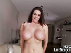 Allison tyler riding big stiff cock