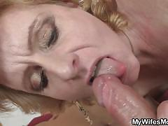 milf, mom, mature, granny