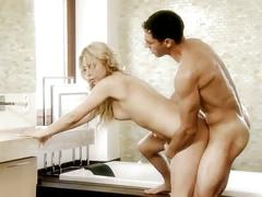 Couple enjoying new realm of anal sex pleasure