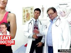 Fatty big tits czech stella fox physical and gyno exam