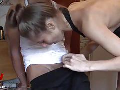 Cute girlfriend loves to film their sex adventures