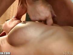 Babe cindy jones enjoys big cock