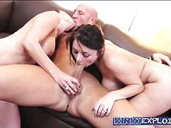 Kinky exploits christian gbg 3 way with sophia dee and nora noir