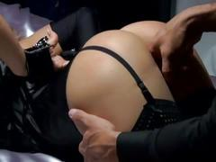 Lustful submissive blonde fucked