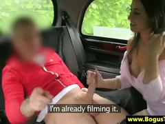 Real euro girl gives blowjob